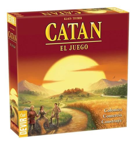 Catan: El Juego - Devir En Español Original