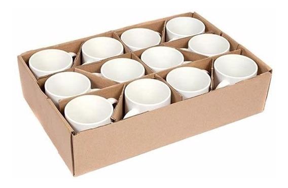12 Canecas Porcelana Para Sublimação Premium Aaa C/ Caixinha