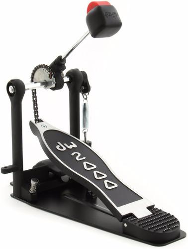 Drum Workshop Dw 2000 Pedal De Bombo Simple Con Base