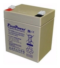 Kit 2 Bateria De Chumbo-ácido Selada Mt1250 (12v 5ah/20hr)