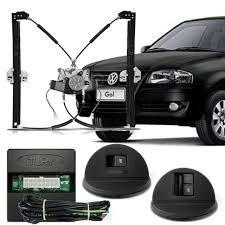 Kit De Vidro Eletrico Gol G4 +  Kit De Trava Eletrica