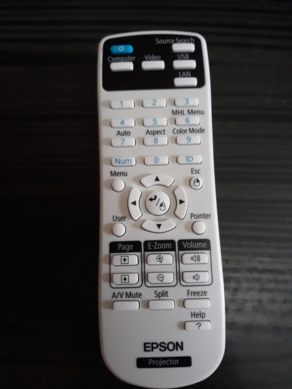 Controle Remoto Projetor Epson Original.