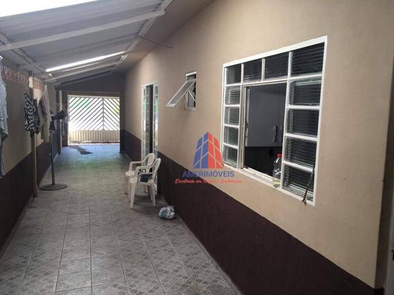 Casa Com 2 Dormitórios À Venda Por R$ 170.000 - Jardim São Manoel - Nova Odessa/sp - Ca1158