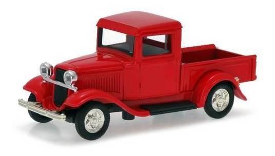1934 Ford Pickup Vermelho - Escala 1:43 - Yat Ming