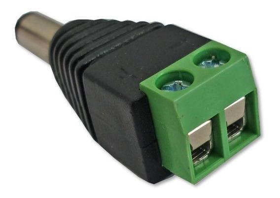 Conectores Plug Corriente Macho 2,1mm Cctv 12v Cámaras