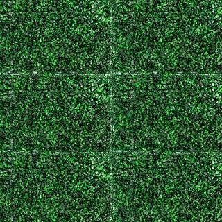 10pzas Follaje Artificial Sintetico Para Muro O Pared Verde