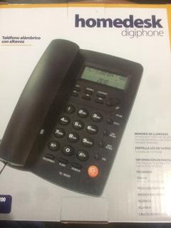 Telefono Alambrico Homedesk Con Altavoz