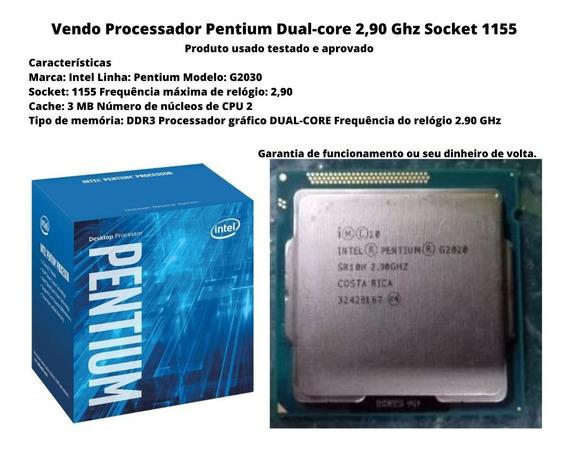 Processador Pentium Dual Core2,90 Ghz Socket 1155 Barato