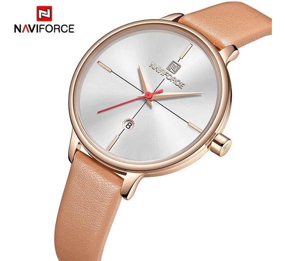 Relógio Feminino Naviforce Importado Prova D