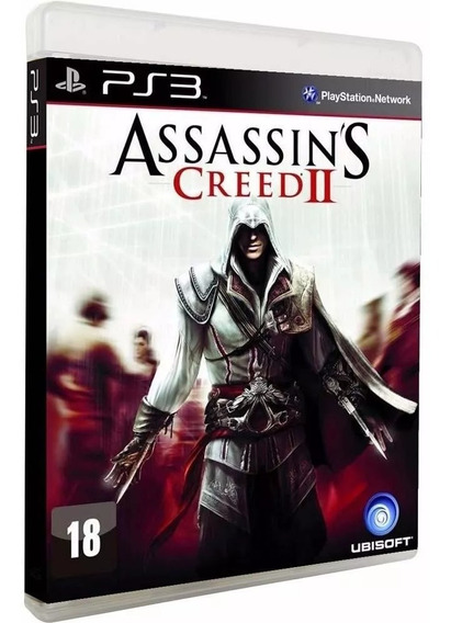 Assassins Creed Ii 2 - Midia Fisica Original E Lacrado - Ps3