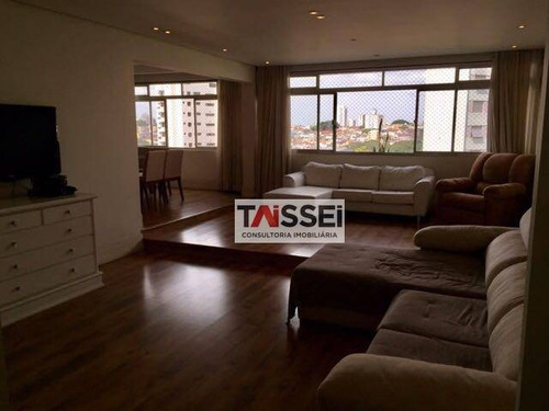 Apartamento Com 4 Dormitórios À Venda, 156 M² Por R$ 740.000,00 - Cambuci - São Paulo/sp - Ap8259