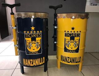 Tambores Para Porras De Futbol Americano Con Bomba Y Corneta
