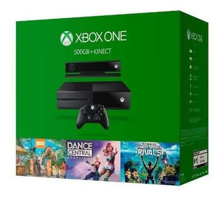 Consola Xbox One 500gb Sensor Kinect Microsoft 3 Juegos