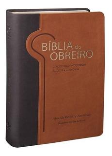 Bíblia Do Obreiro C Couro Sintético Revista Atualizada