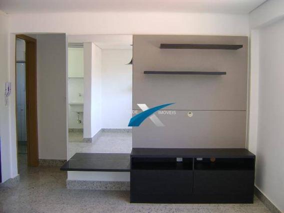Apartamento À Venda, 1 Quarto, No Bairro Serra - Ap3649