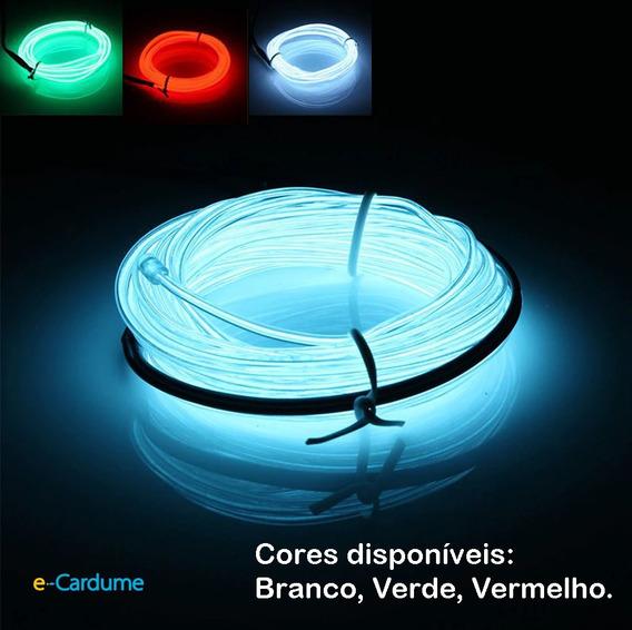 Fio De Luz Neon Led Natal Enfeite No Brasil Importado Novo