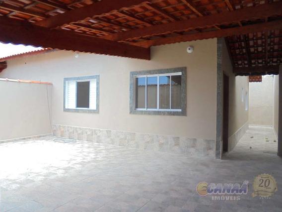 Casa Lado Praia Com 2 Dormitórios R$ 225 Mil Ref-7481