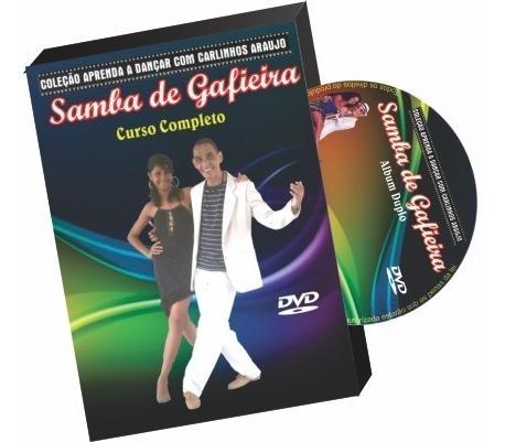Coleção Completa Com Aulas De Samba De Gafieira Em Dvd