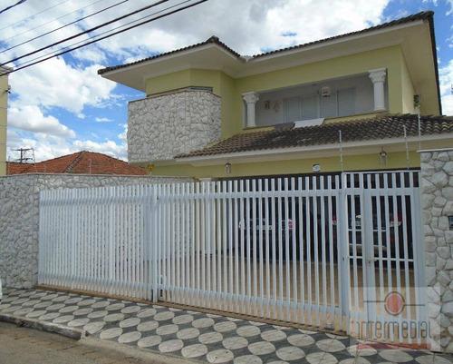 Casa Com 4 Dormitórios, 321 M² - Venda Por R$ 1.500.000,00 Ou Aluguel Por R$ 4.500,00/mês - Centro - Boituva/sp - Ca1449