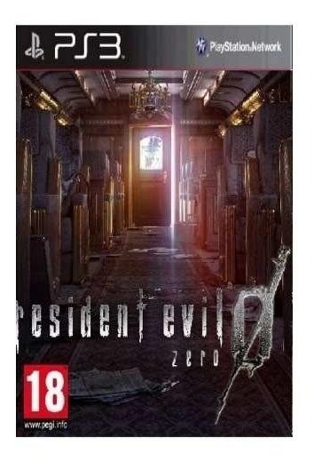 Resident Evil Zero Ps3 Jogo Em Oferta Play 3 Envio Rápido