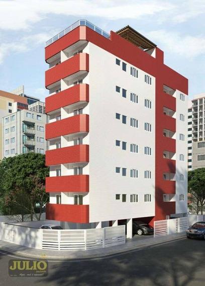 Lindo Apartamento Com 1 Dormitório Mobiliado Por R$ 175.000 - Jardim Imperador - Praia Grande/sp - Ap0940