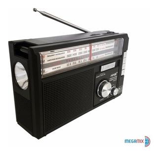 Radio Portátil Nns Ns-251u Usb / Sd / Tf / Am / Fm / Sw