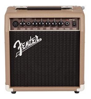 Fender Acoustasonic 15 Ampli Guitarra Electroacustica