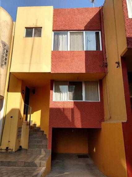 Renta Casa En Condominio Azcapotzalco