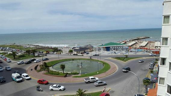 Piso Amplio Balcón Frente Al Mar En Mar Del Plata Centro