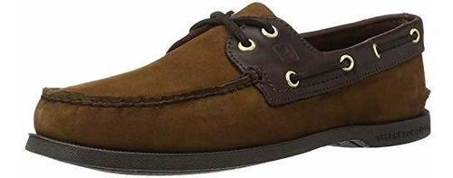 Sperry Zapatos Nauticos Originales De 2 Ojales Para Hombre,