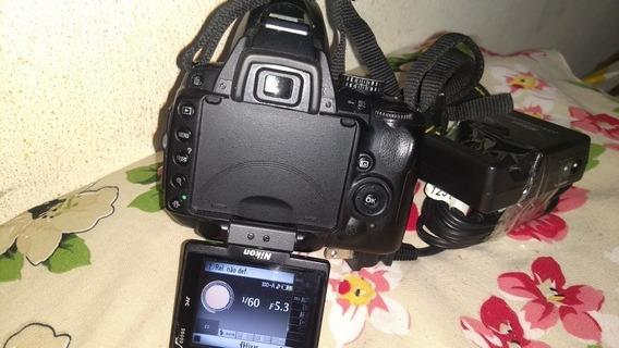Camera Nikon D5000 Funciona Perfeitamente 17k