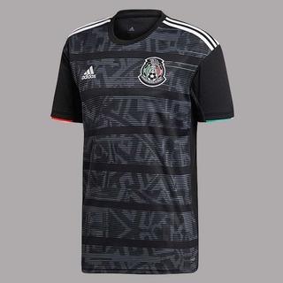 Jersey Mexico adidas 2019 Original Negro Uniforme Titular