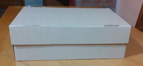 Cajas Microcorrugado Para Archivo, Usos Varios. 25x36.5x12