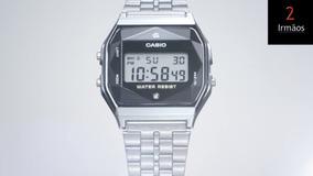 Relógio Casio Unissex Vintage Diamantado A159wad1df