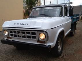 Caminhonete Chevrolet D-10 Carroceria Dire. Hidráulica 1981