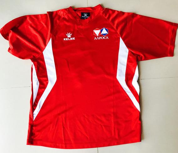 Camiseta Rusia Marca Kelme Usado En Campeonato De Futsal