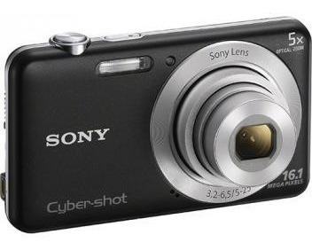 Câmera Digital Sony Cyber-shot Dsc-w710 16.1 Mp + Cartão 4gb