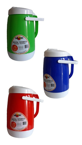 Bidon Térmico (termolac) Capacidad:2.5l Marca: Bal Plas
