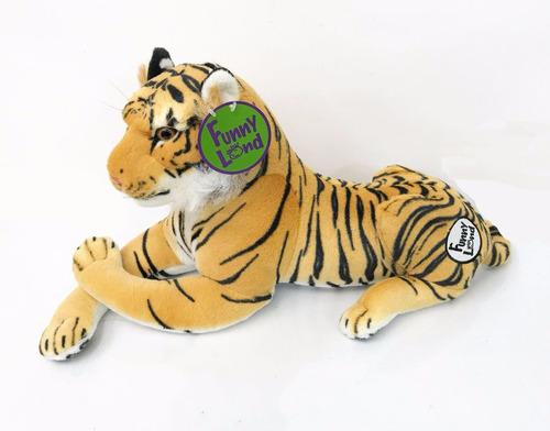 Imagen 1 de 1 de Peluche Tigre 45cm Excelente Calidad Dacio Funny Land