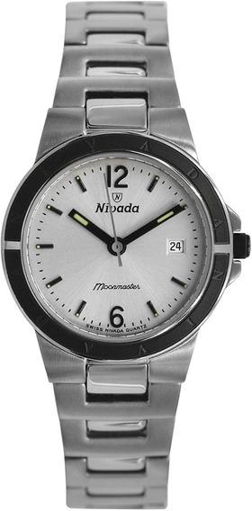 Reloj Nivada Swiss Billionaire Moonmaster Para Mujer