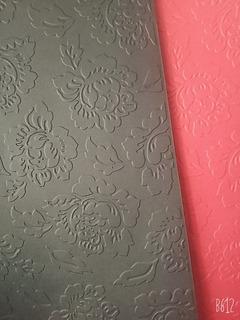 Cartulina Color A4 180gr Textura En Relieve Rosas X20h