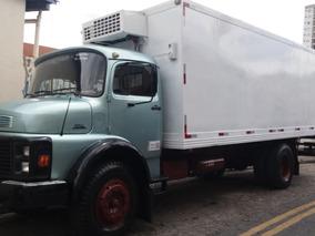 Caminhão Toco Mercedes Mb 1114 Ano 88, 2º Dono Refrigerado