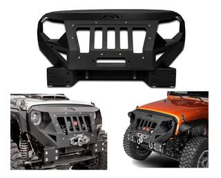 Defensa Parachoques Fab-fours Jeep Wrangler Jk 07-18 Rubicon