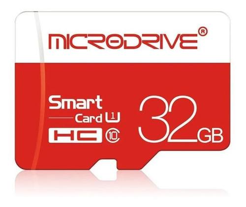 Memoria 32gb Micro Sd Microdrive Class 10 Sdhc Con Adaptador