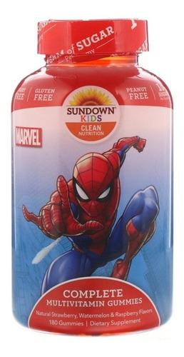 Multivitamínico Infantil Homem-aranha 180 Gomas - Promoção!!