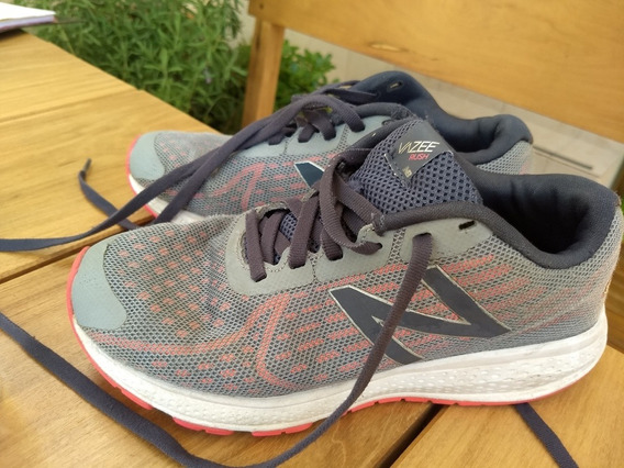 Zapatillas New Balance Usada Gris Orig T4 Us 36 Eur 4.6 Uk
