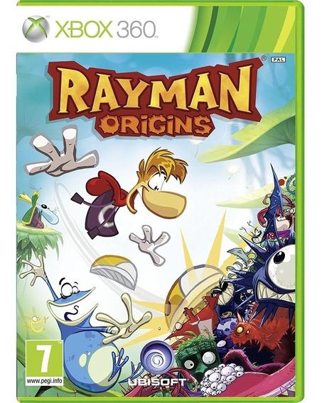 Jogo Rayman Origins Xbox360 Midia Fisica Cd Original Game Novo Envio Imediato