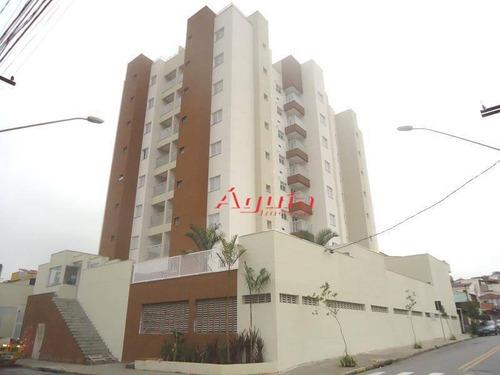 Apartamento Com 3 Dormitórios À Venda, 61 M² Por R$ 350.000,00 - Vila Camilópolis - Santo André/sp - Ap0181