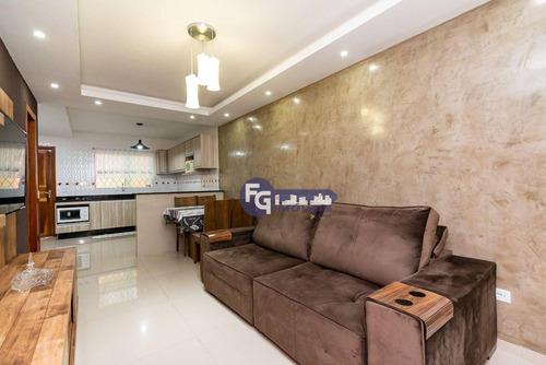 Sobrado Com 2 Dormitórios À Venda, 78 M² Por R$ 335.000,00 - Sítio Cercado - Curitiba/pr - So0164