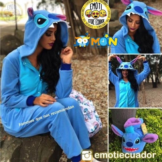 Pijama Kigurami Stitch Panda Unicornio Pikachu Cerdito Pato
